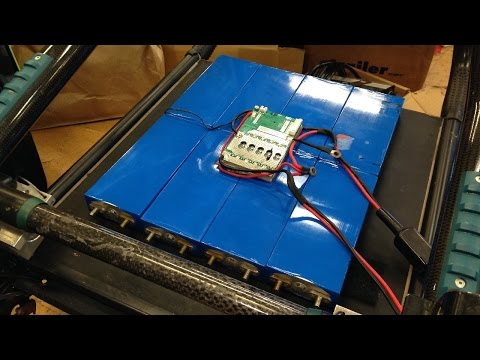 DIY Lightweight Lithium Powered Wheelchair Build part 1: Batteries