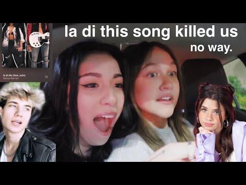 Nessa Barrett - la di die (feat. jxdn) [Official Music Video] REACTION