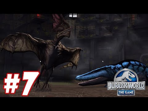 Tapejara vs Labyrinthodontia : Trò chơi nuôi khủng long đánh nhau - Jurassic World The Game #7 streaming vf