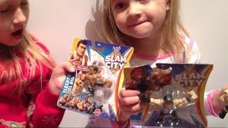 wwe slam city action figures stretchy fun from mattel or crap