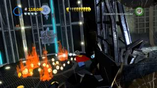 LEGO Batman 2 DC Super Heroes 100% Guide - Tower Defiance (All Minikits, Citizen in Peril)