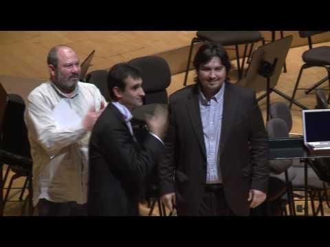 Entrega de premis Secció Martin i Soler I CONCURS BANKIA D'ORQUESTRES DE LA COMUNITAT VALENCIANA