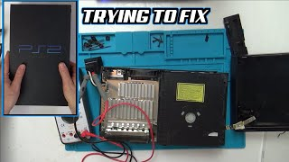 Trying to FIX a DUSTY PlayStation 2 with NO POWER
