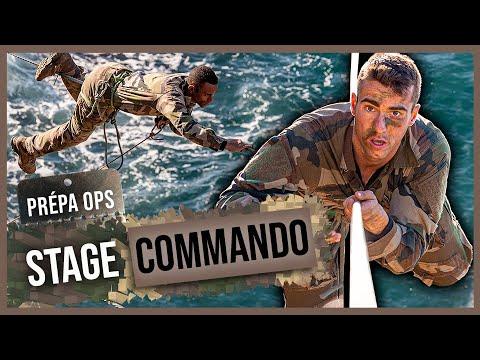 Formation commando au CNEC-1er CHOC - un blessé de l'armée de Terre se dépasse !
