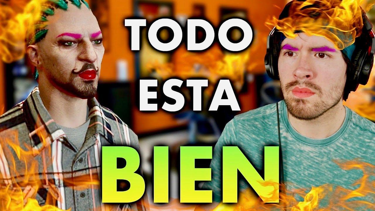 Un Idiota Juega GTA V ONLINE Y Todo Sale Mal.