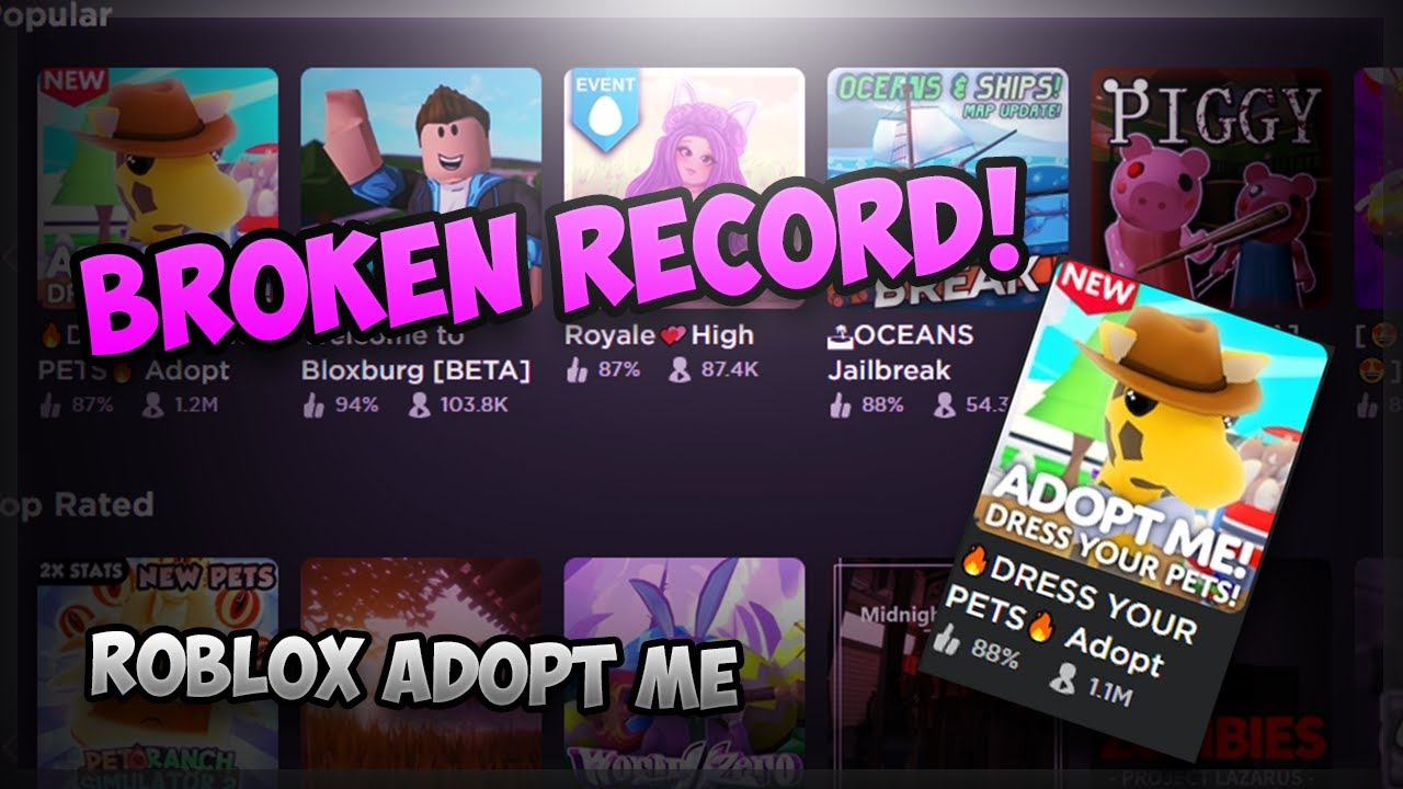 Adopt Me Officially Destroyed Roblox Roblox Adopt Me Youtube