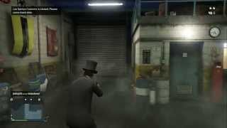 GTA V Online Glitch: inside Los Santos Customs