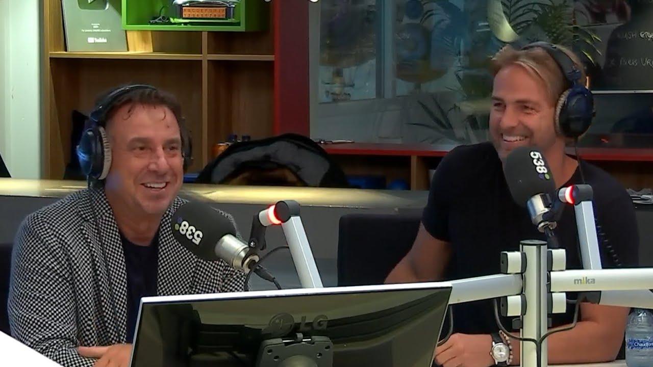 Marco Borsato en John Ewbank Lippenstift Interview bij Radio 538