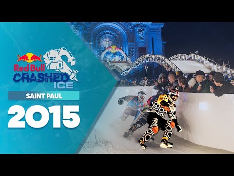 Big Crashes and Close Finishes - Red Bull Crashed Ice 2015