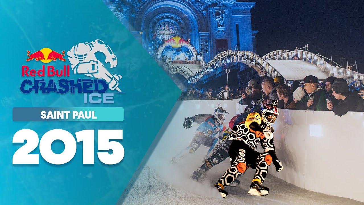 Big Crashes and Close Finishes - Red Bull Crashed Ice 2015