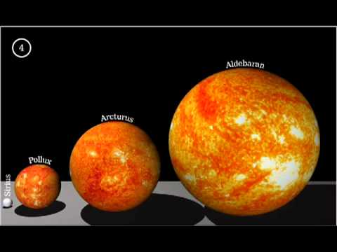 biggest star compared to sun - photo #24