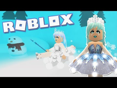 Snow Queen! Roblox: [SNOW] Dance Your Blox Off ~ It's Winter Time