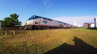 9/11/17 Amtrak Empire Builder Private cars Lake City MN