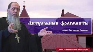 Актуальные фрагменты (прот. Владимир Головин)