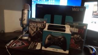 """Wii U Deluxe set Unboxing"", ""Black Ops 2 Wii U"" and ""Zombie U"""