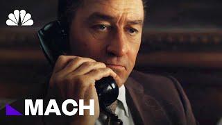 'The Irishman': Robert De Niro Digitally De-Aged Shows How Far Tech Has Come   Mach   NBC News