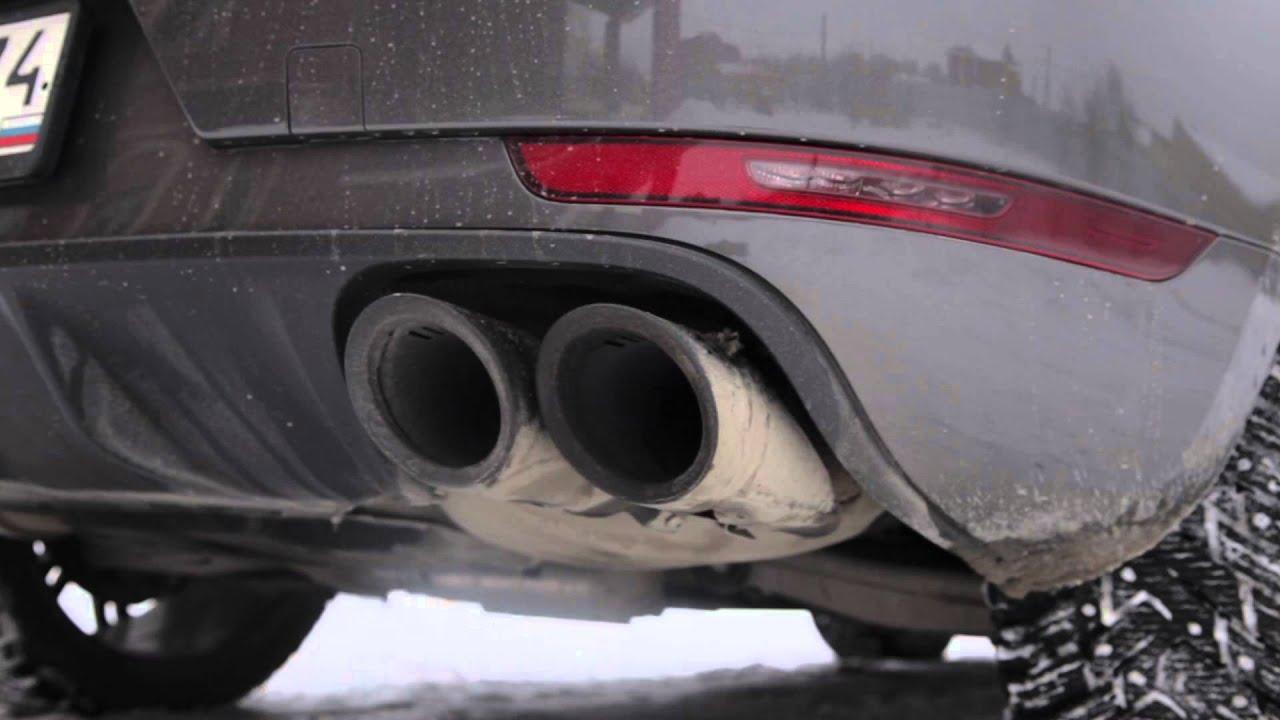 Porsche Macan Turbo Sport Exhaust Youtube