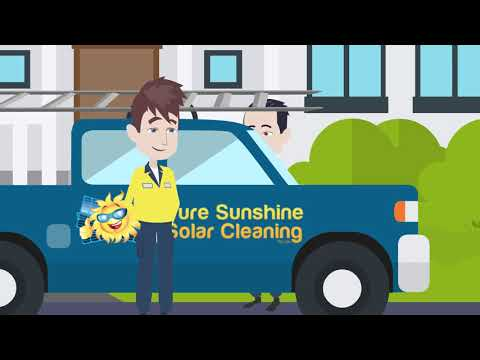 Pure Sunshine Solar Cleaning - Solar Panel Cleaning Made Easy