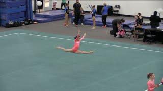 Annie the Gymnast   Level 7   Acroanna