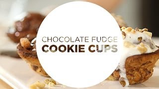 Cooking Clean with Quest - Chocolate Fudge Cookie Cups