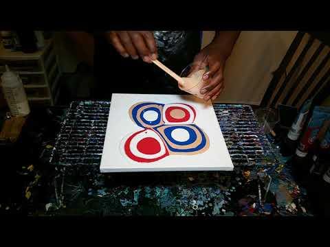 Acrylic Fluid Painting – Back to Basics with Puddles