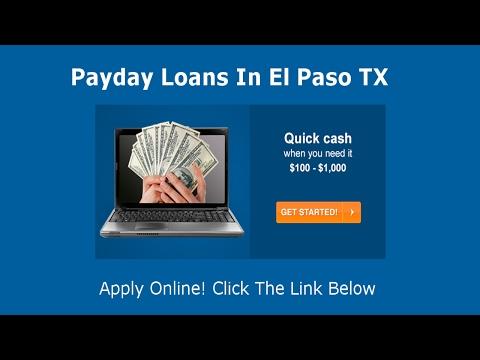 Payday Loans El Paso | Online Cash Advance