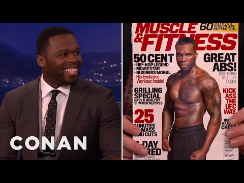 """Curtis """"50 Cent"""" Jackson Is Fit & Forty  - CONAN on TBS"""
