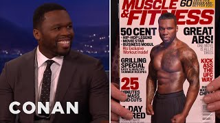 "curtis ""50 cent"" jackson is fit forty conan on tbs"