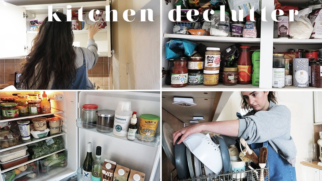 MINIMALISM SERIES | KITCHEN CLEAN UP & DECLUTTER