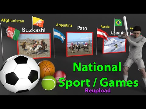 National Sports of the Countries