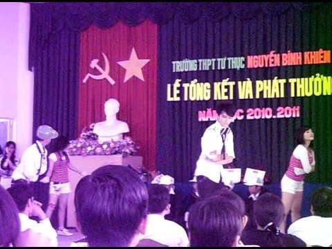 Van Nghe Truong THPT TT Nguyen Binh Khiem Can Tho part 1.AVI