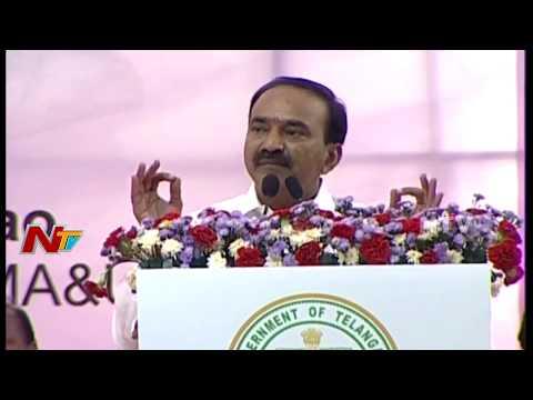 Telangana Finance Minister Etela Rajender Speech @ Sircilla Bahiranga Sabha || NTV