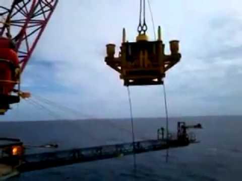 Accidente en Grua de Plataforma offshore