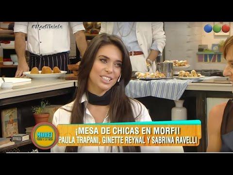 Paula Trapani, Ginette Reynal y Sabrina Ravelli: mesa de chicas - Morfi