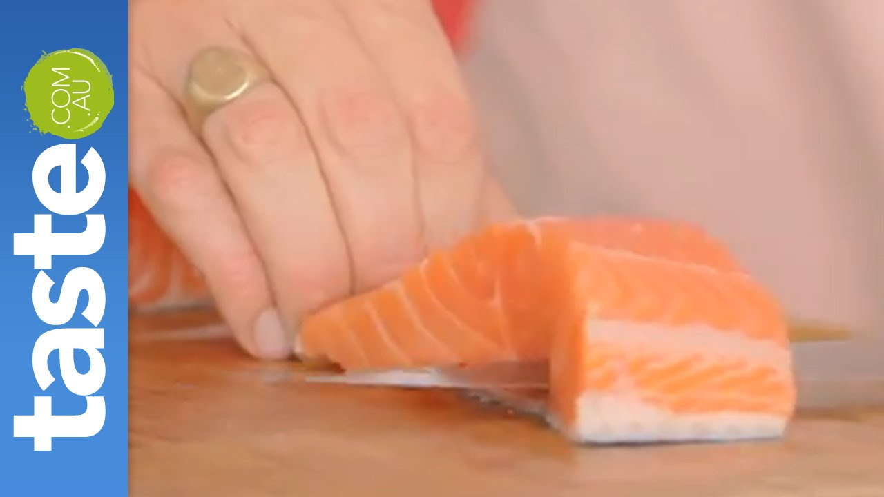 How To Remove Salmon Skin