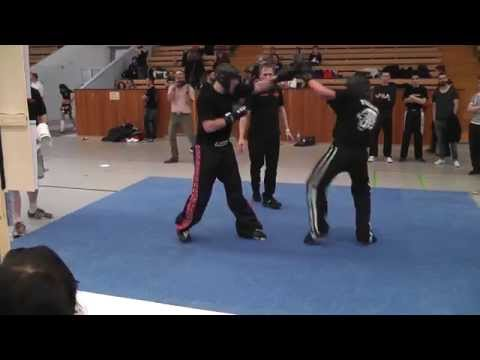 20140412 DM der ISKA Martin Winkler Sieg im Finale Kickboxen LK 91Kg  Sugambrer Fightclub