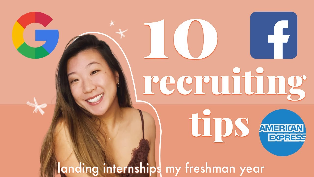 How I Got Google Facebook Amex Internships As A Freshman 10 Software Engineering Interview Tips Youtube