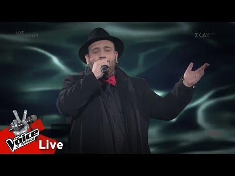 Κωνσταντίνος Σαββίδης – Σε γυρεύω | 2o Live | The Voice of Greece