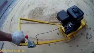 видео Виброплита своими руками