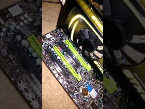 Motherboard 7F Error Fix 2B