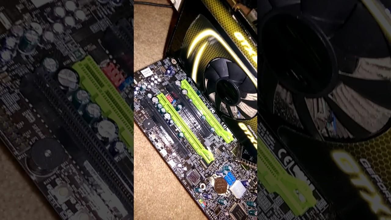 Motherboard 7F Error Fix 2B - YouTube