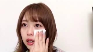 180413 120207 竹内舞 SHOWROOM Talk about Yakata Miki (矢方美紀)