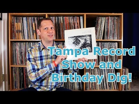 Tampa Record Show Finds and Birthday Record Store Dig