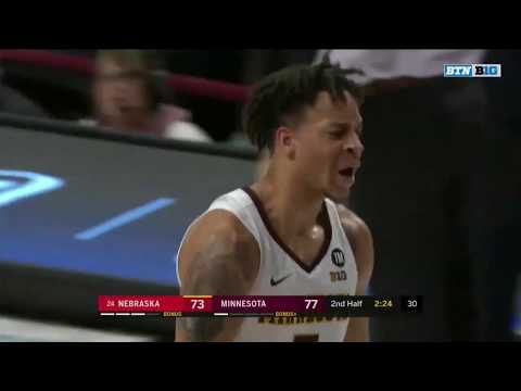 Highlights: Minnesota Golden Gophers vs. Nebraska Cornhuskers | Big Ten Basketball