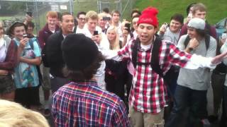Crazy rap battle Rico vs. Romeo (PART 1)