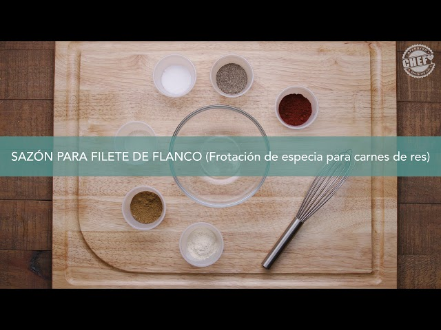 CHEF Culinary Skills: Spice Rubs (Spanish)