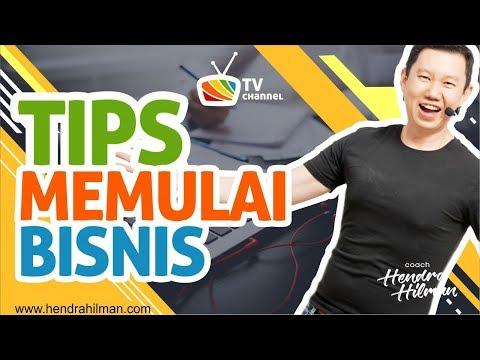 Pelatih Business Bandung - Coach Hendra Hilman - Tips memulai Bisnis