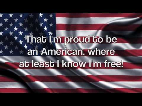 God Bless the USA-Lee Greenwood (Lyrics)