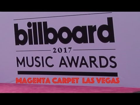 Billboard Music Awards 2017 Magenta Carpet Las Vegas