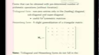 Mod-02 Lec-07 Canonical Forms, Symmetric Matrices